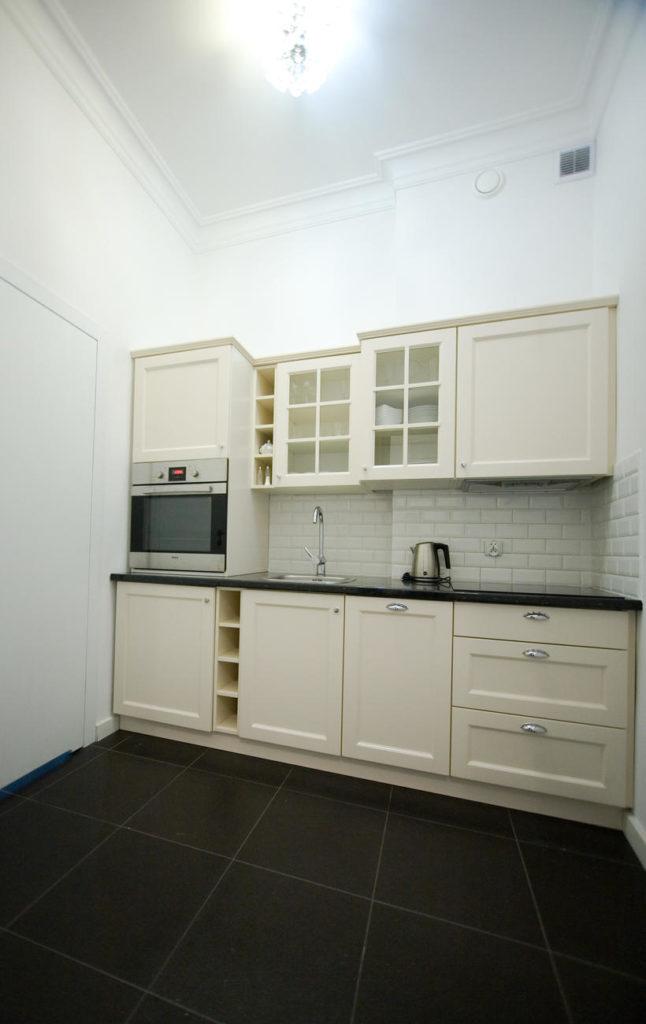 kuchnia w apartamencie rodzinnym willa puck